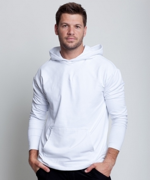 Cool Down Hoodie - 68 USD - This is the ultimate hoodie for the serious athlete. Performance fabric that keeps you warm, or cools you down, depending on your body temperature. Perfect fit, and so comfortable you may never want to take it off.