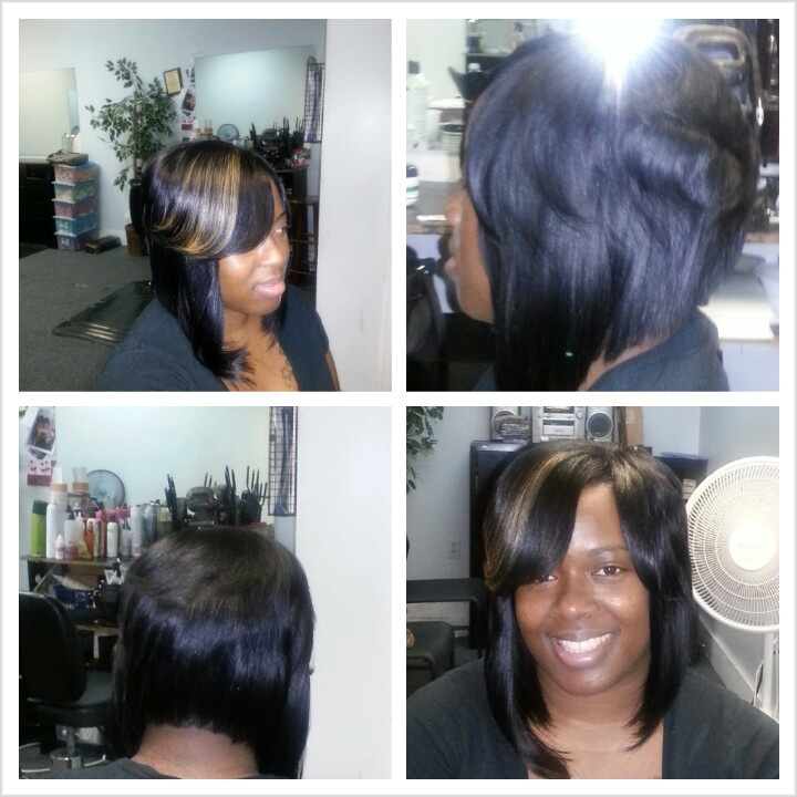body wave hairstyle : Layered Bob Weave Hairstyles Layered bob quick weave