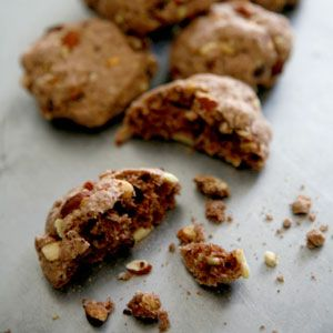 Chocolate-Almond Cookies (Strazzate) Recipe - Saveur.com