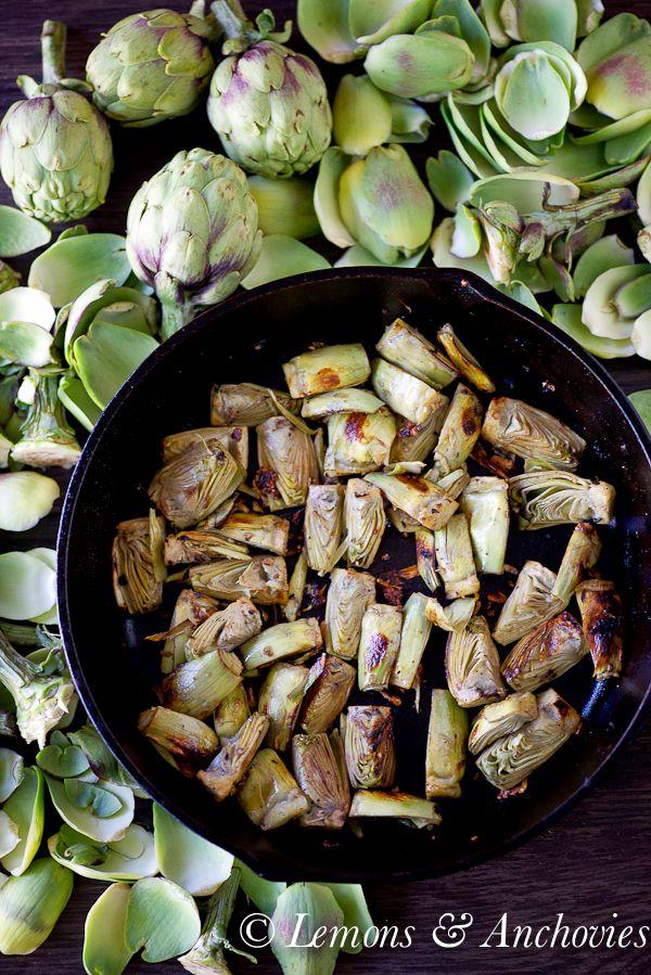 Sauteed Baby Artichokes | Bountiful basket produce ideas | Pinterest