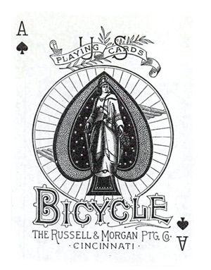 western aces cards logo design