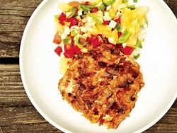 Plantain-Crusted Mahi mahi with Pineapple Salsa from 'The Catch' | Re...