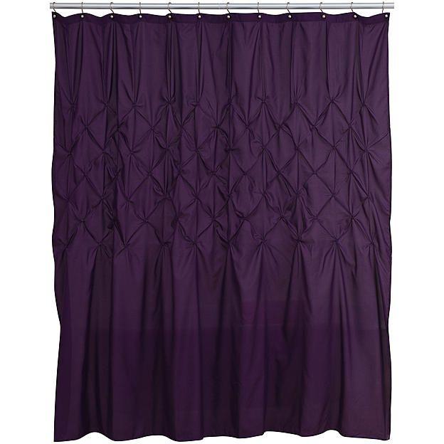 Diamond Tuck Shower Curtain