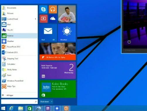 how to get start menu in windows 8.1