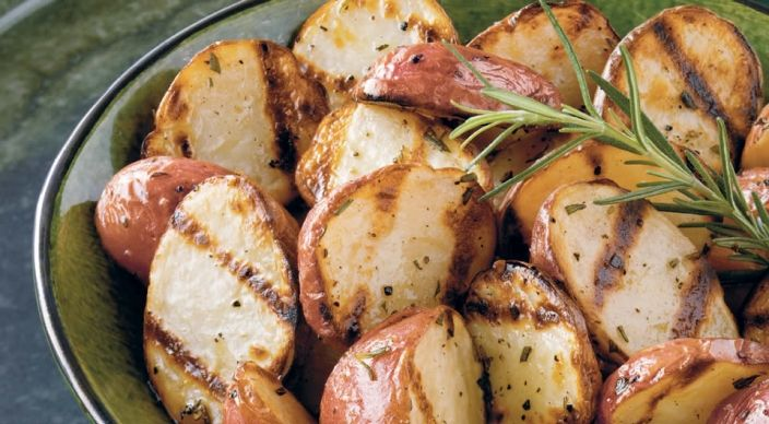 Grill-Roasted New Potatoes Recipe from Weber's Real Grilling™ by ...