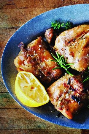 Recipe: Grilled Rabbit Confit