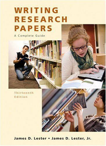 writing research papers a complete guide 14th edition