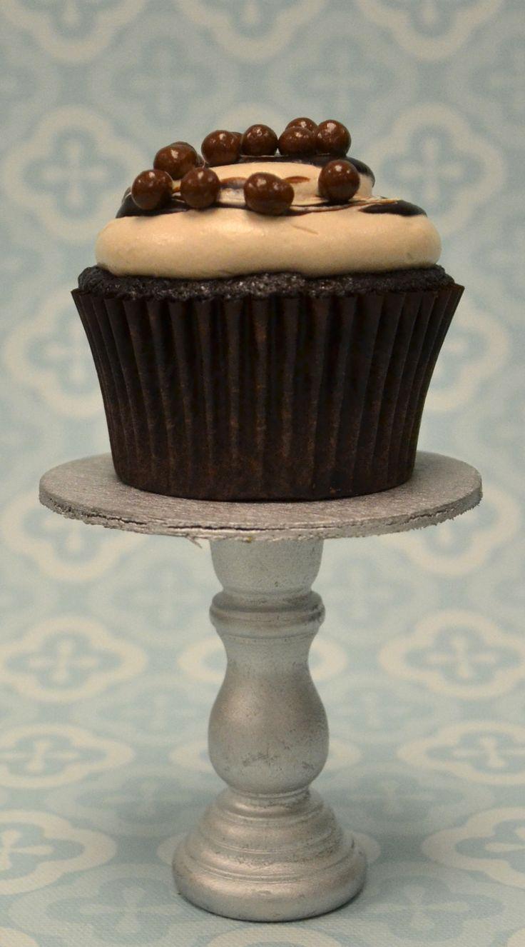 Triple Chocolate Caramel Crunch- Chocolate cake with a white chocolate ...
