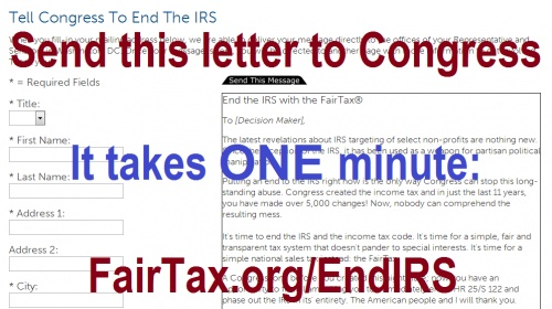 Tax code and the irs we just pay a sales tax and the states collect