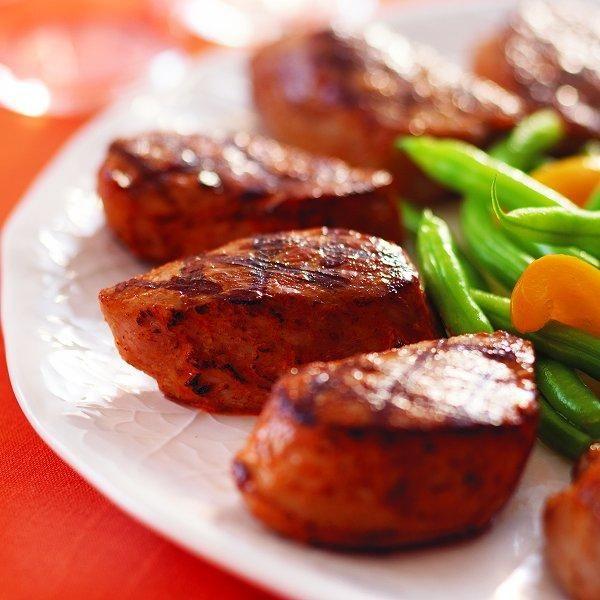 orange ginger garlic grilled pork chops
