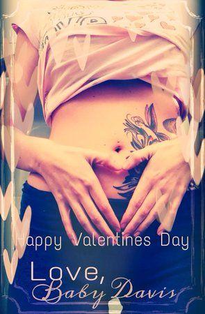valentines day pregnancy surprise