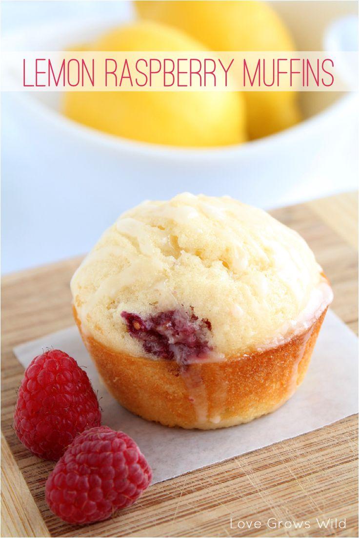 lemon raspberry muffins | Let's EAT! | Pinterest