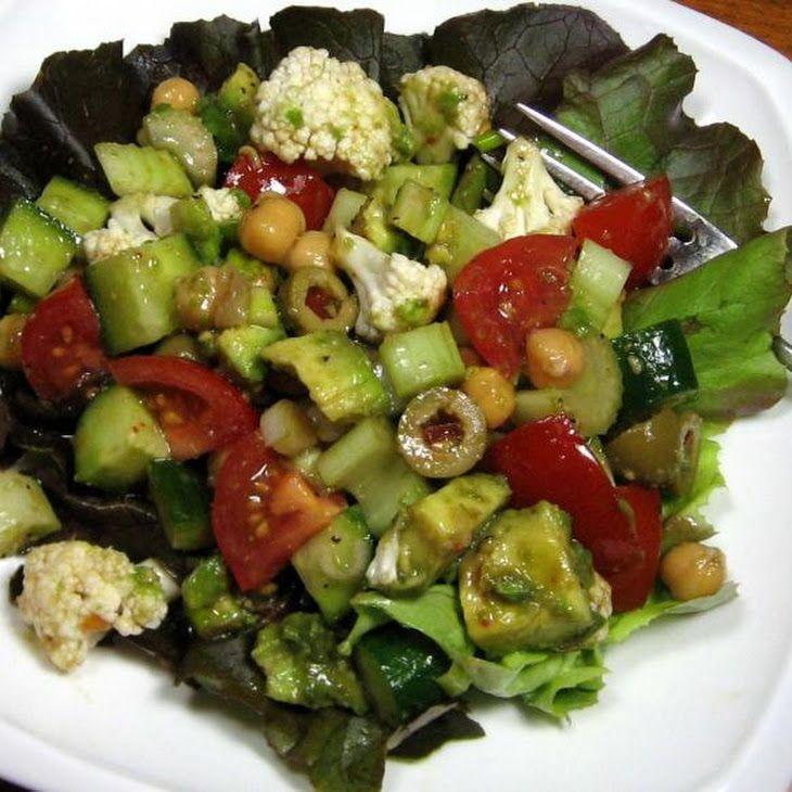 Mediterranean Marinated Salad | food ideas | Pinterest