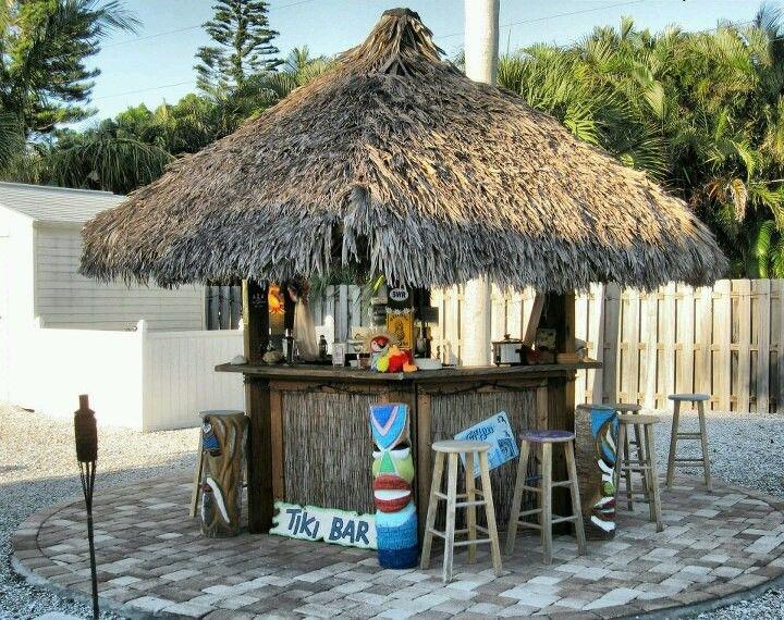 Backyard Tiki Bar Pictures : Sitesta key tiki  Backyard Tiki Bar  Pinterest
