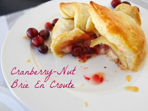 cranberry and brie en croute | appetizers, hors d'oeuvres and snacks ...
