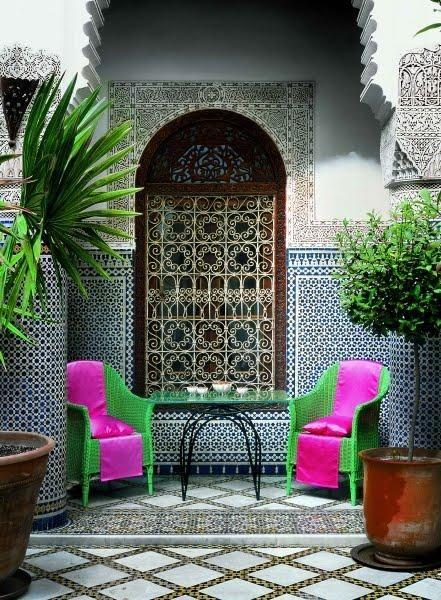 marokkói kerámia mozaik