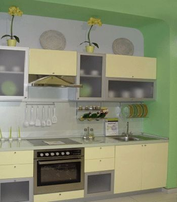 Kitchen decorating ideas green paint colors and wall tiles for Kitchen wall paint colors ideas