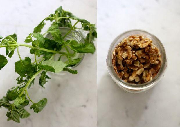 Vegan Basil Walnut Pesto Recipe