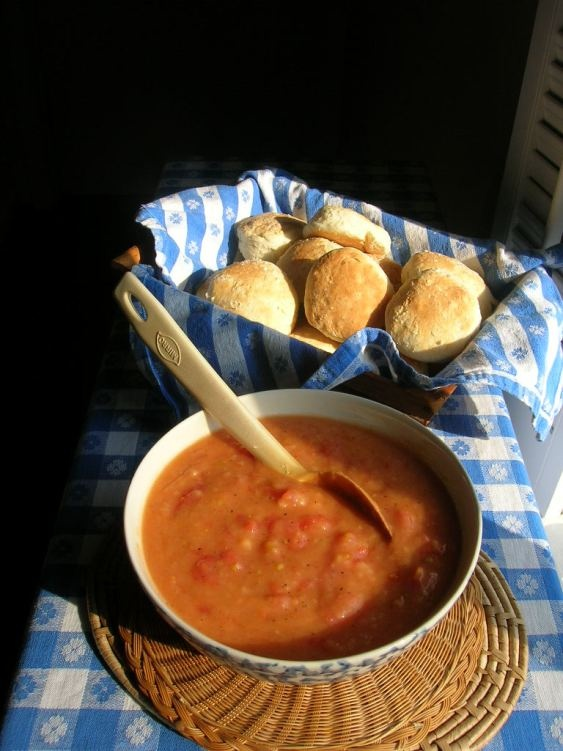 Tomato Gravy | Let's Eat Dips, Gravy's and Sauces | Pinterest