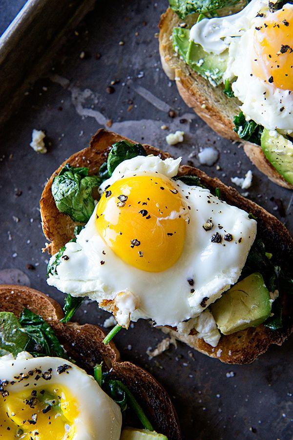 Eggs florentine rezept