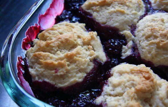 Simple Blackberry Cobbler | Desserts, Cookies & Candies | Pinterest