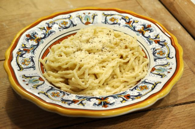 ... Spaghetti with Pecorino Cheese and Black Pepper) | Memorie di Angelina