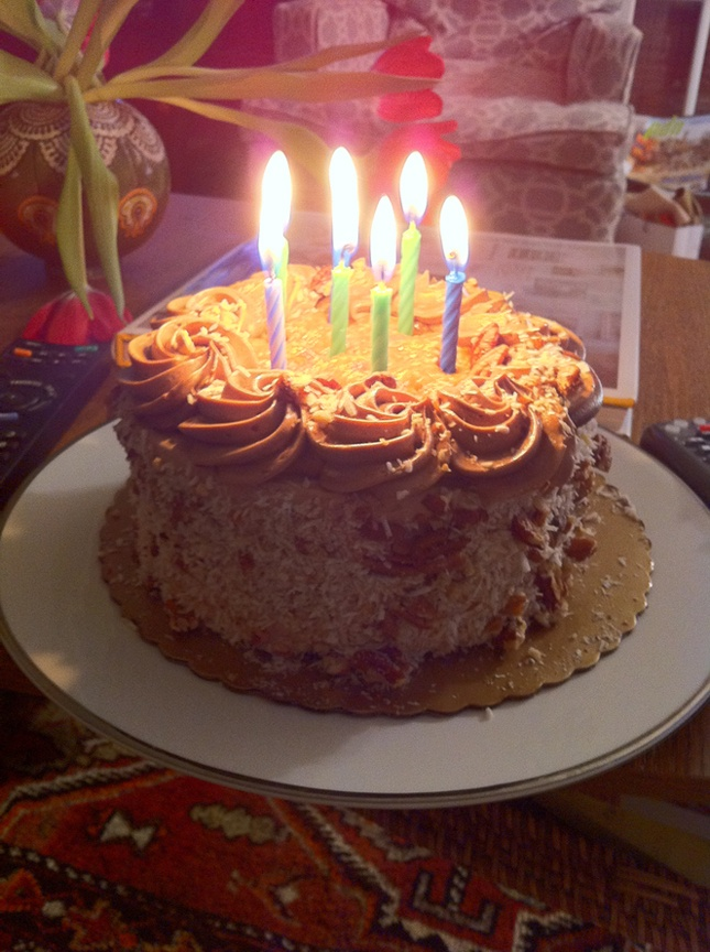 Decorating Ideas For German Chocolate Cake : German Chocolate Birthday Cake Cake Decorating Pinterest