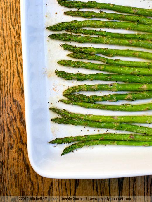 Simple Roasted Asparagus | Yummy Foods & Drinks. | Pinterest