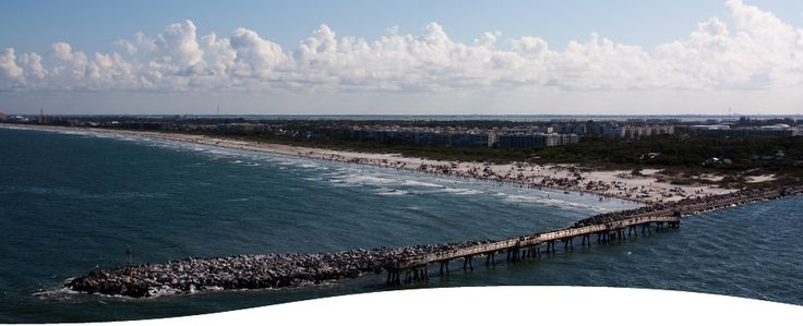 Jetty park cape canaveral vacation pinterest for Cape canaveral fishing