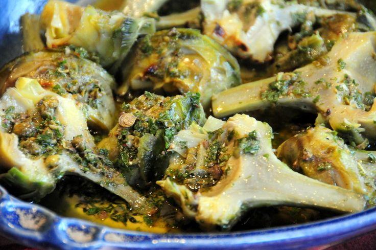 Grilled artichokes | Food I love | Pinterest