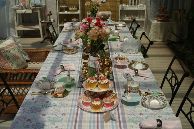 A victorian inspired alice in wonderland party tea party for Victorian tea party supplies
