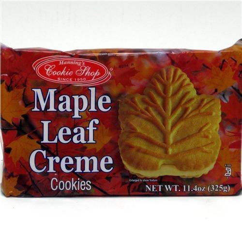 Maple Leaf cookies. | Canadiana | Pinterest