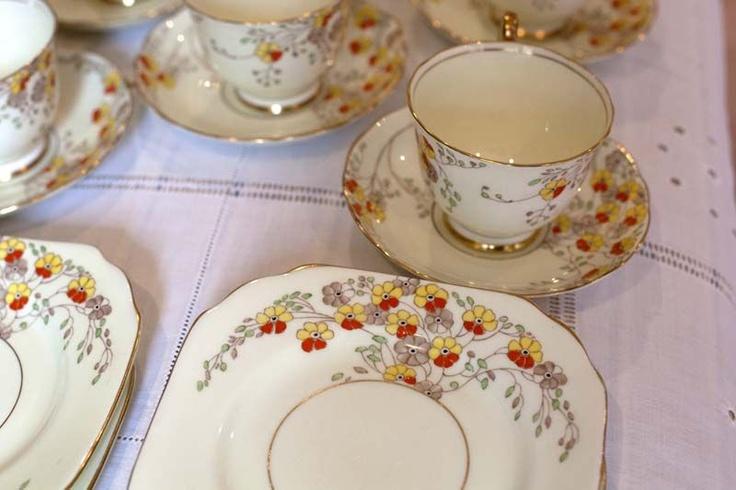 Radfords Vintage Tea Set Oh so retro Radfords Tea Set Stunning set ...