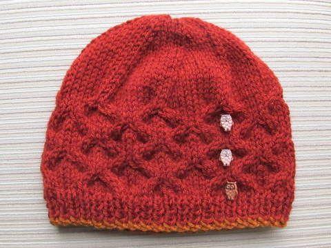 Lattice Stitch Hat (birth - adult)
