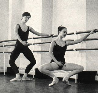 """""""Plie is the first thing you learn and the last thing you master."""" -Suzanne Farrell"""