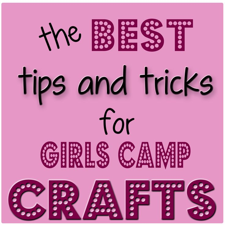 great tips for planning craft sessions