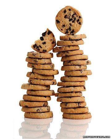 Rum-Raisin Shortbread Cookies Recipe
