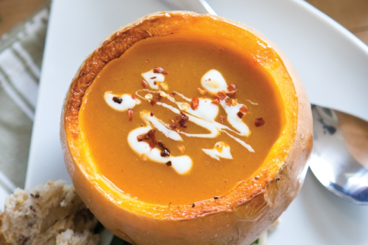 Spicy Pumpkin Soup | Recipies | Pinterest