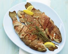 Bacon-Wrapped Trout | Paleo | Pinterest