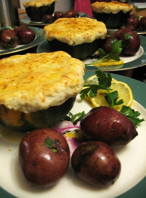 Shrimp and scallop pot pie | Edible Delights | Pinterest