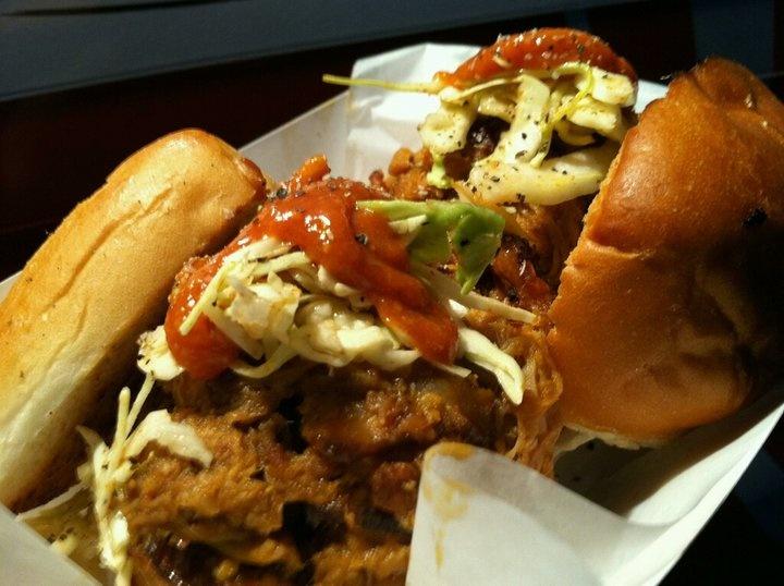 Porky slider from @baconmania   Orange County Food Trucks   Pinterest