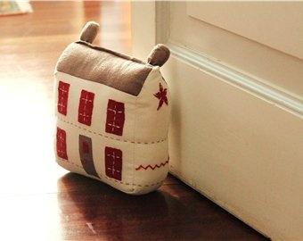 Cute stuffed house door stop plush pinterest - Cute door stoppers ...
