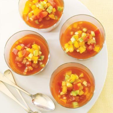 Tis the season for Heirloom Tomato Gazpacho—Heirlooms make the dish ...
