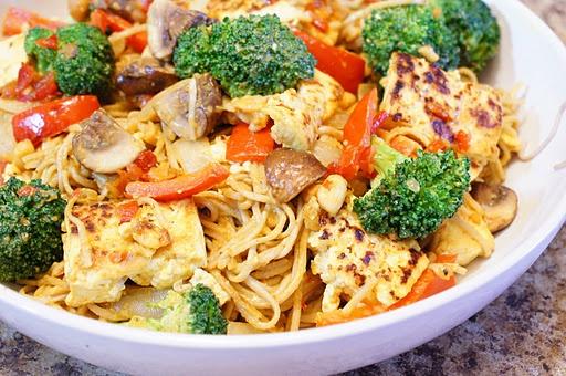 Lime-Curry Tofu Stir-fry Recipes — Dishmaps