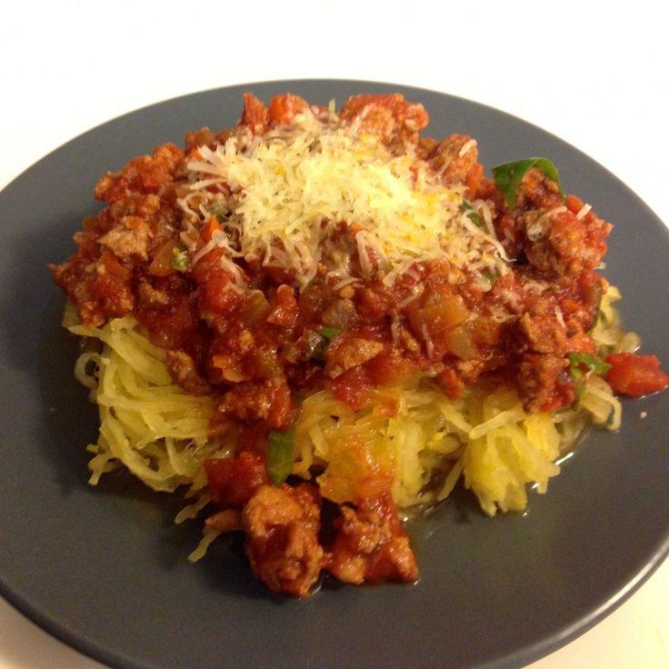 Spaghetti Squash With Spinach, Feta & Basil White Beans Recipes ...