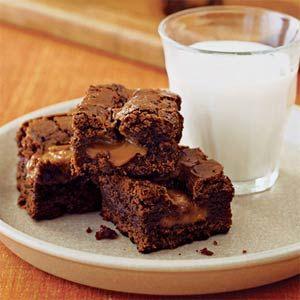 Caramel Brownies | Recipe