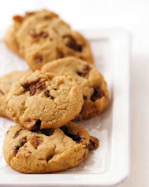 Peanut Butter Toffee Cookies | Recipe