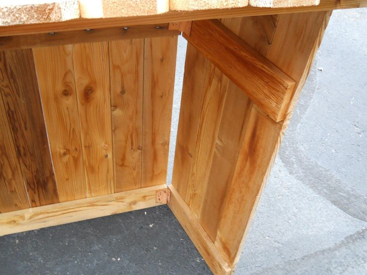 Large wooden outdoor nativity stable manger creche 47 for blowmold