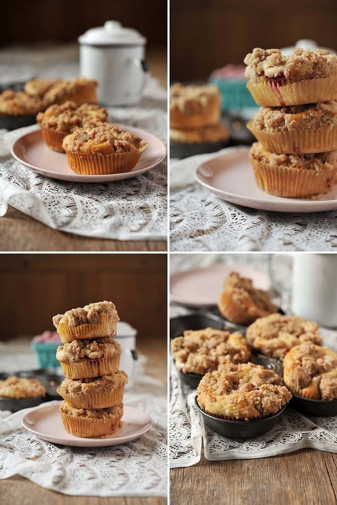 Raspberry Sour Cream Mini Coffee Cakes: | ♥Bon appetite ...