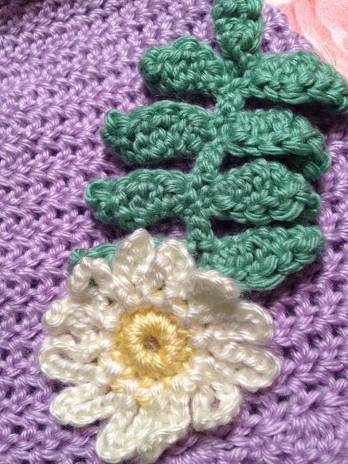 Free Crochet Fern Leaf Pattern : Crochet fern leaf pattern free The Crocheted Cupcake (My ...